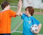 Artikelgebend sind sportliche Kindergeburtstage.